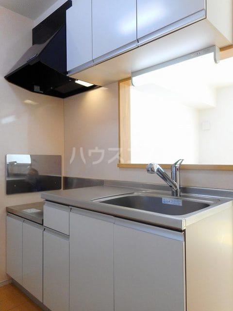 グレイス・パークB 02010号室のキッチン