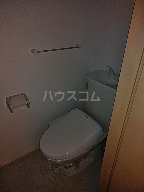 レジデンス アウル 01010号室のトイレ