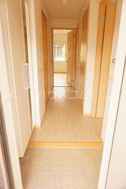 トルヴェ ラ フェーヴⅡ 01020号室の玄関