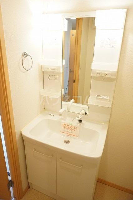 トルヴェ ラ フェーヴⅡ 01020号室の洗面所