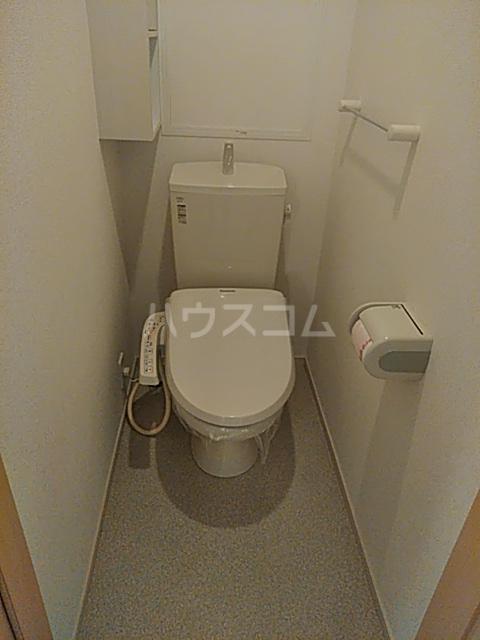 パークビレッジ春日部Ⅰ 02040号室のトイレ