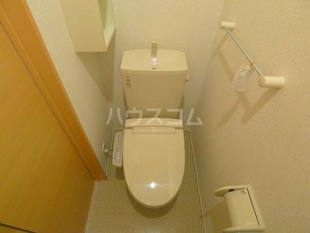 マーベラスキキA 01020号室のトイレ