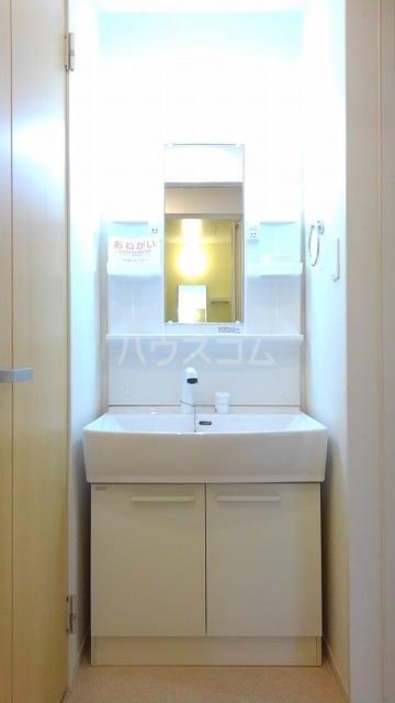 アプローズ 01010号室の洗面所