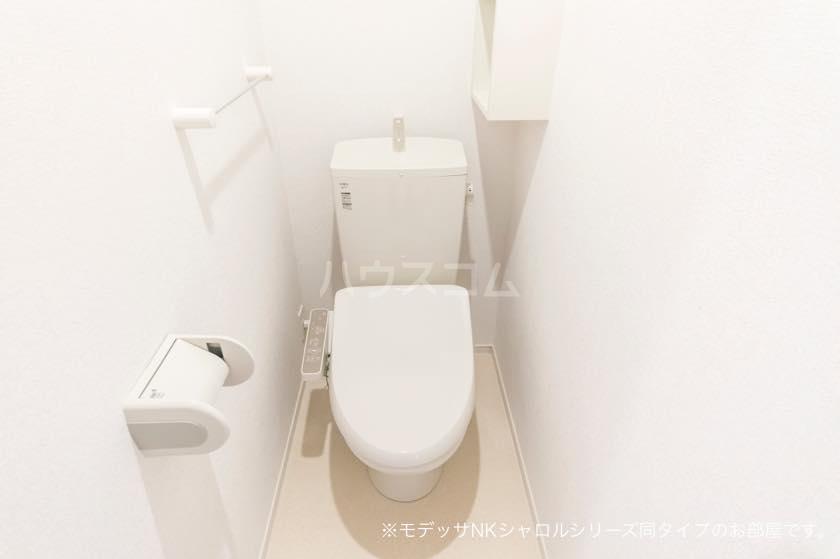 ラ・メール 01030号室のトイレ