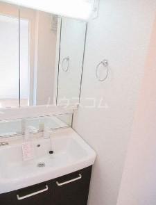 テラコッタⅢ 02010号室の洗面所
