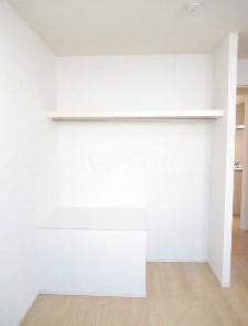 テラコッタⅢ 02010号室の収納