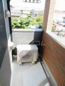 テラコッタⅢ 02010号室のバルコニー