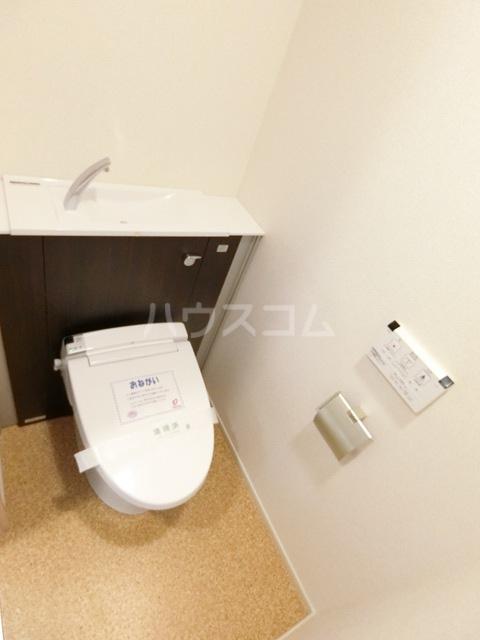 レジデンス22 04040号室のトイレ