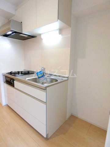 レジデンス22 08050号室のキッチン