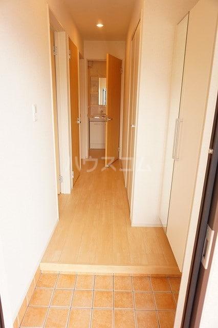 レジーナA 01010号室の玄関