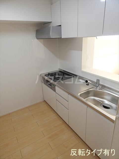レジデンシアC 01040号室のキッチン