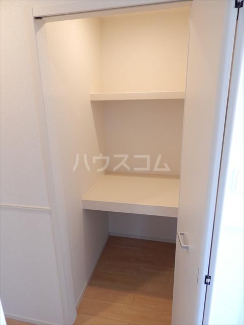 レジデンシアC 01040号室の収納
