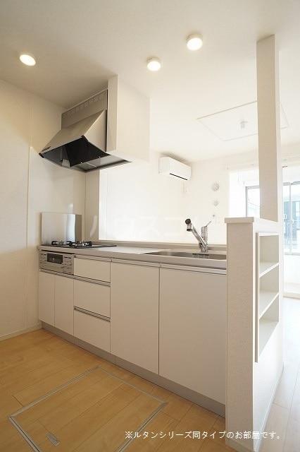 アグリ フォーリオA 01020号室のキッチン