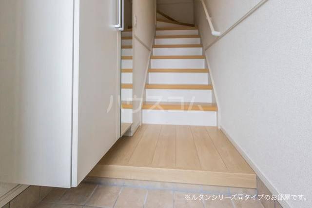 アグリ フォーリオA 02020号室の玄関