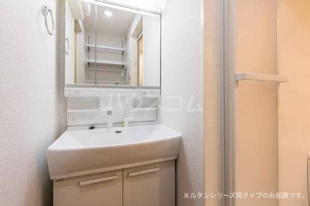 アグリ フォーリオB 01020号室の洗面所