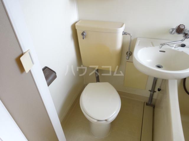 ハイツ宿河原 103号室のトイレ