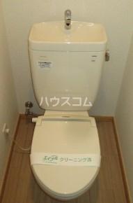 グランテラス等々力Ⅱのトイレ