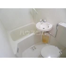 フローラルヒモンヤ 0201号室の洗面所