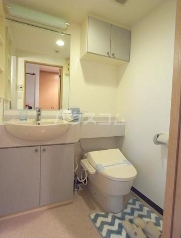 アーデン目黒通り 0213号室のトイレ