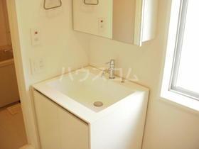 不動前アパートメント 2C号室の洗面所