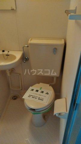 ワコーレ武蔵浦和 406号室のトイレ