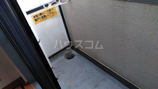 ワコーレ武蔵浦和 406号室のバルコニー
