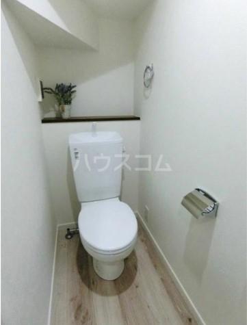 ハーミットクラブハウス平町 105号室のトイレ