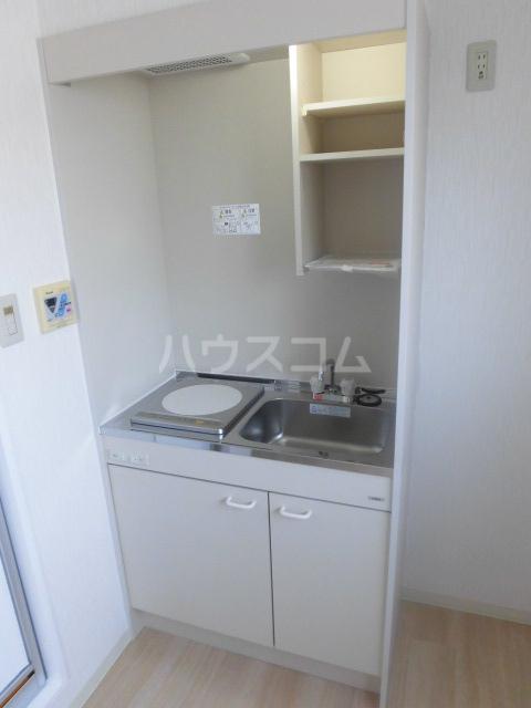 エスパス八雲 402号室のキッチン