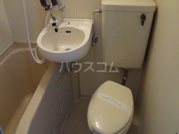 サカエフラット元住吉 402号室のトイレ