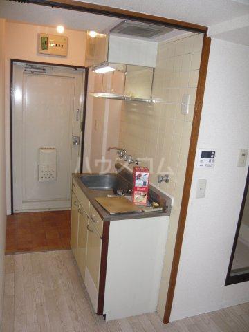 メゾン・ド・カナリ 0316号室のキッチン