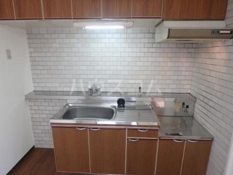 ファミール三田 203号室のキッチン