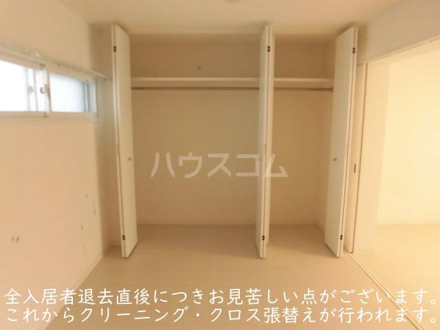 ソサエティ柿の木坂 イーストステージ 303号室の収納