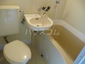 メゾンさくら 0202号室の洗面所