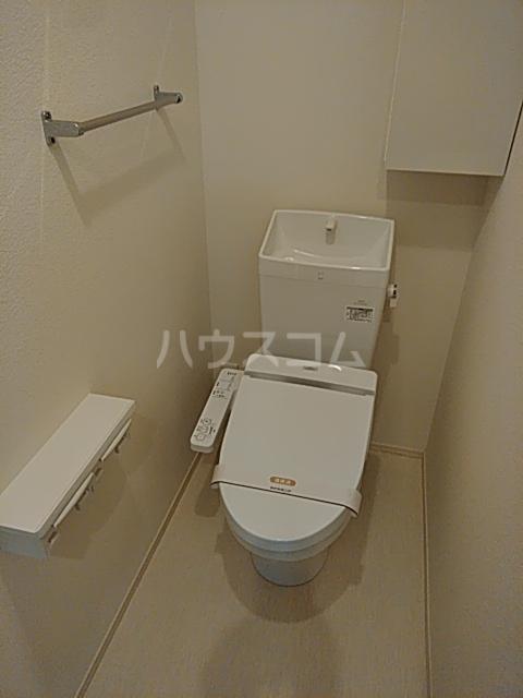 D-room思川マロン G 203号室のトイレ