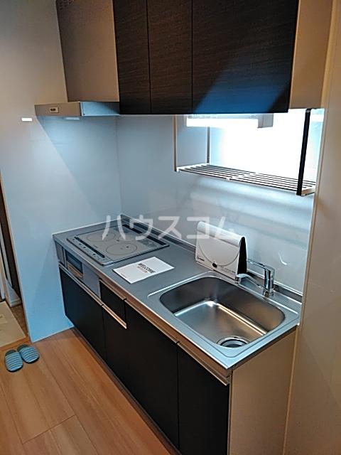 D-room思川マロン G 203号室のキッチン