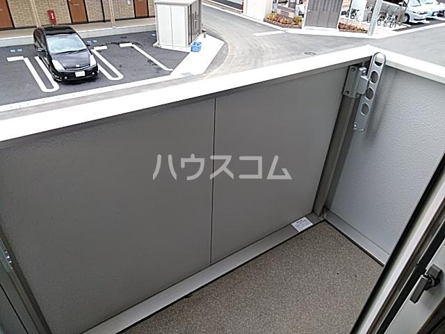 D-room思川マロン G 203号室のバルコニー