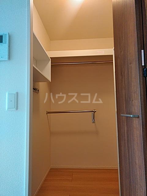 D-room思川マロン G 203号室の収納