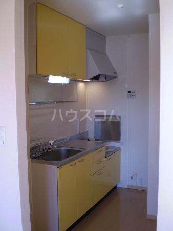 リシェス 203号室のキッチン