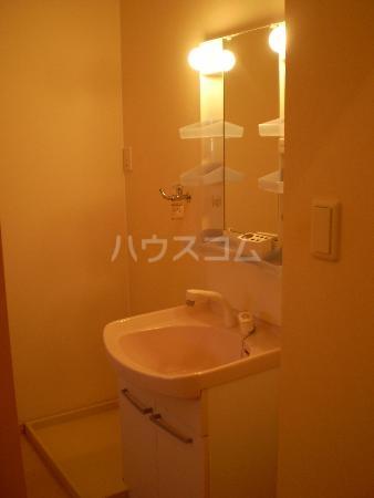 リシェス 203号室の洗面所