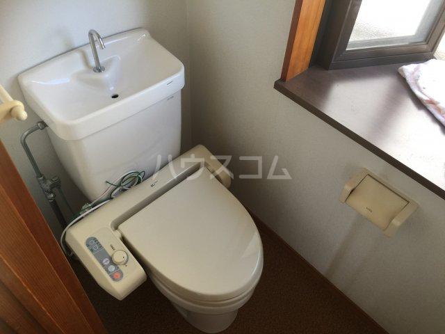 旭家住宅2号のトイレ