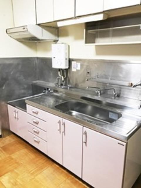 とよはるサンハイツB棟 503号室のキッチン