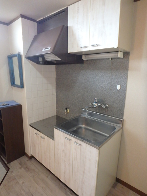 第一MHハウスA棟 208号室のキッチン