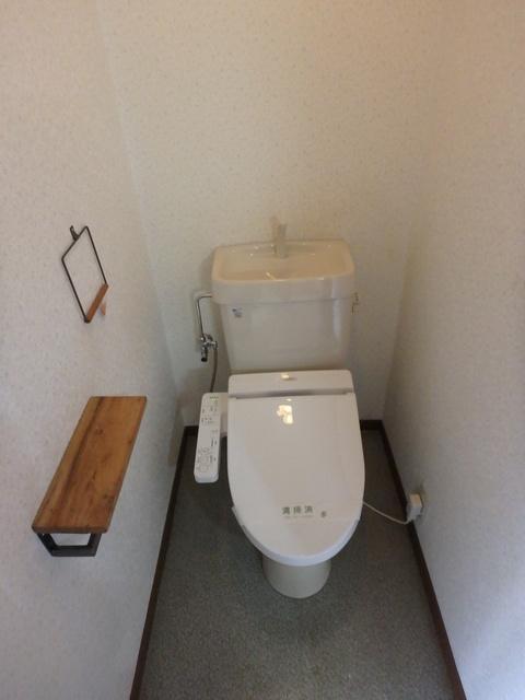 第一MHハウスA棟 208号室のトイレ
