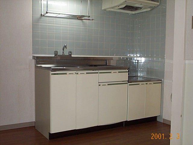 メゾン佳鳳楼 201号室のキッチン