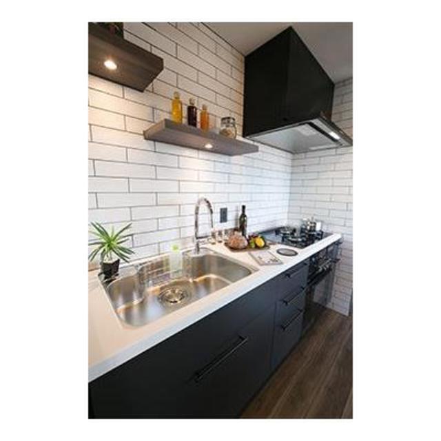 パーク・アヴェニュー神南 1601号室のキッチン