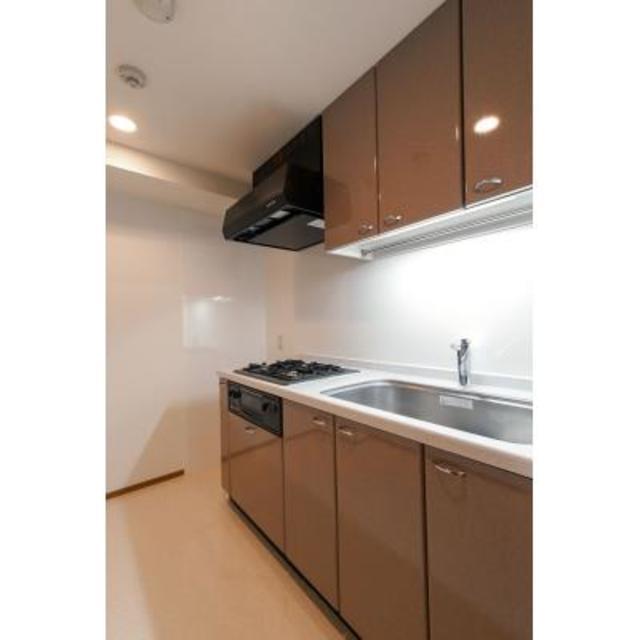 パークブルーム三葉 103号室のキッチン