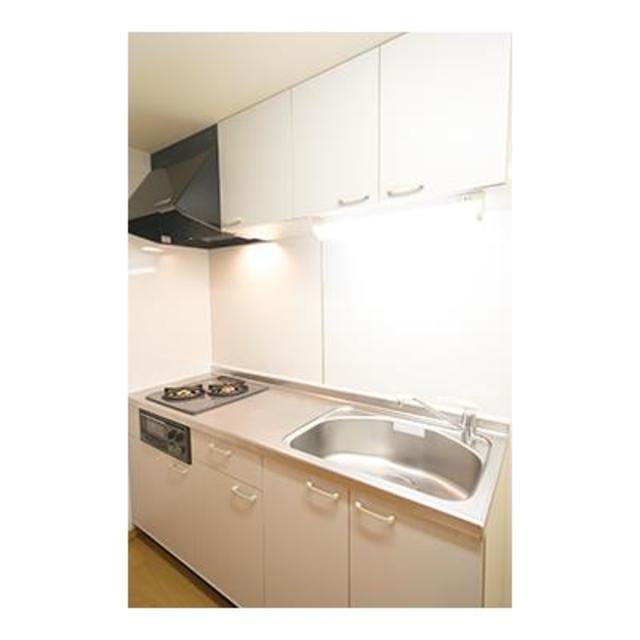 ルミエール中町 206号室のキッチン