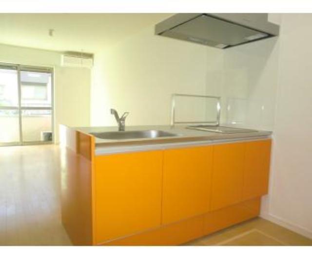 ディアコートA棟 101号室のキッチン