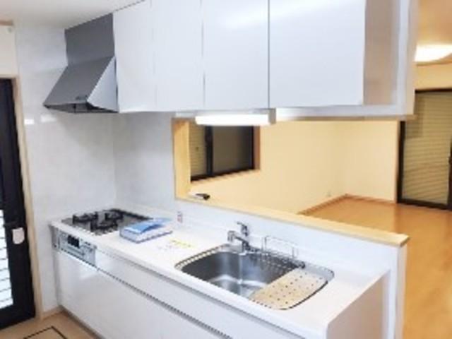 北本戸建のキッチン