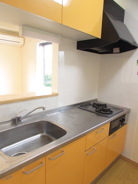 プロビデンシャル 202号室のキッチン